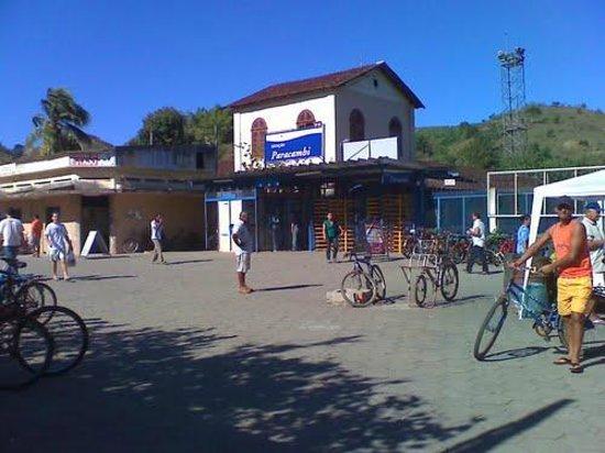 Hotel Taireta : Estação de trens de Paracambi!