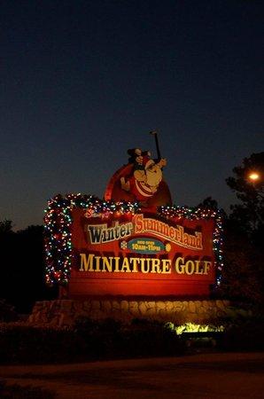 Disney's Winter Summerland Miniature Golf Course: Golf time