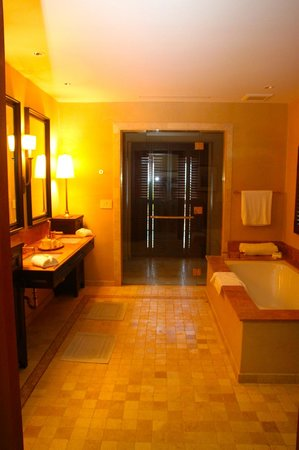 Royal Isabela: Bathroom - Shower is through the glass doors