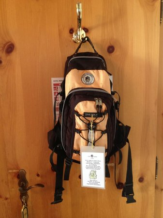 daypacks with binoculars for you to use!
