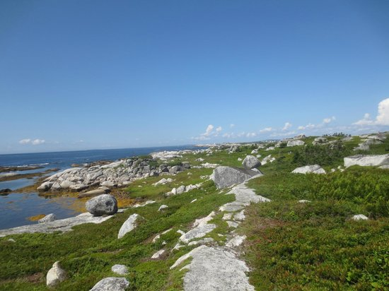 Great E.A.R.T.H Expeditions: Barren terrain near Peggy's cove