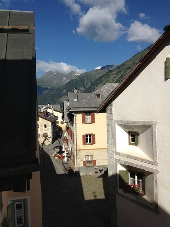 Hotel Meisser: the village view from the room