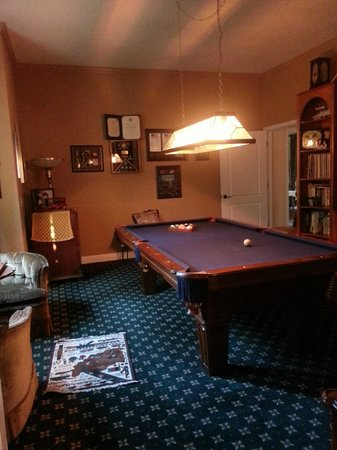 Yosemite Rose Bed & Breakfast: Game room