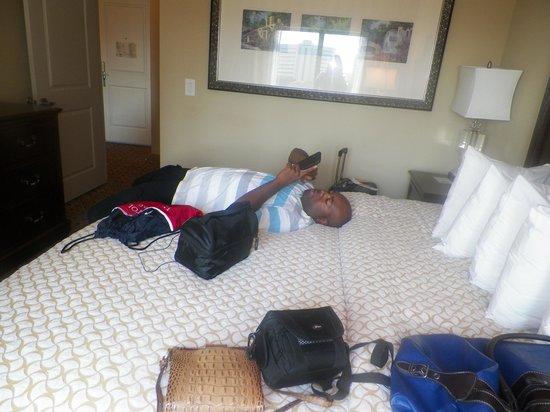 Embassy Suites by Hilton San Antonio Riverwalk-Downtown: Bedroom