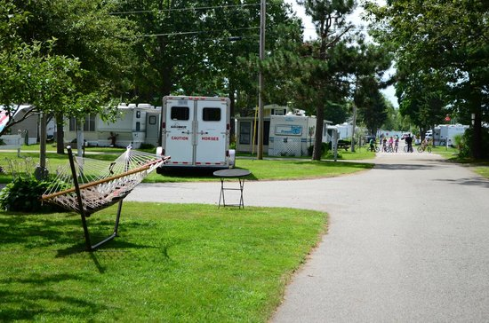 Beach Acres Campground : Campsites