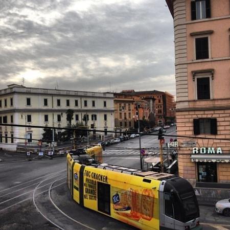 BEST WESTERN PLUS Hotel Milton Roma : вид из номера