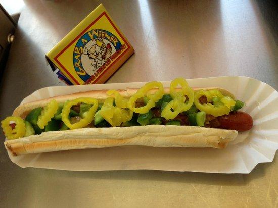 Grab A Wiener : Sky Scraper Wiener