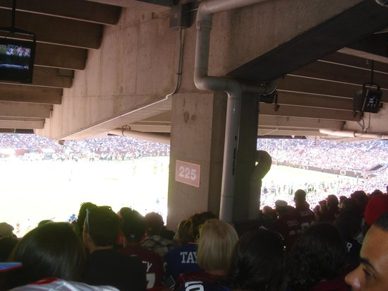 FedExField: Blocked out!