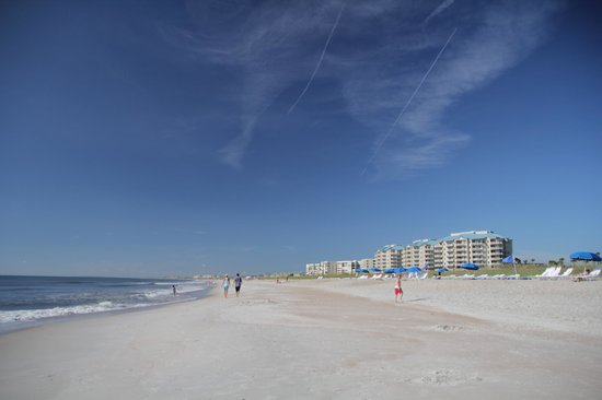 Looking south from the Ritz-Carlton beach