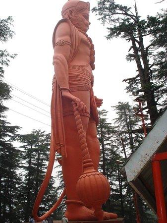 Jakhu Temple: 108 Feet Statue of Hanuman Ji