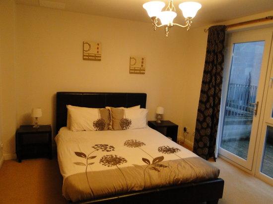 Edinburgh Pearl Apartments Lochrin : Dormitorio doble