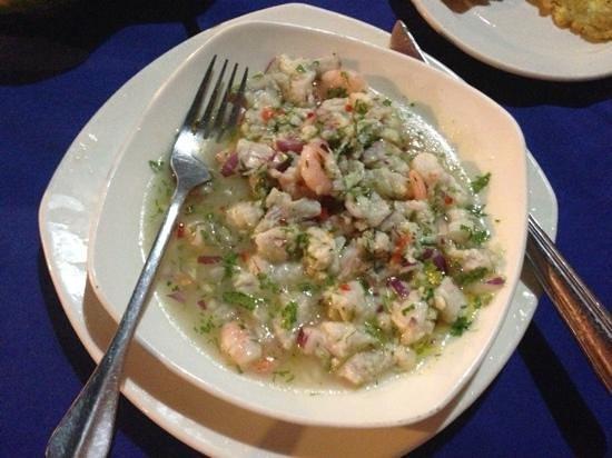 Restaurante Bar Donde Socorro Sea Food: Ceviche de Los Soccoros