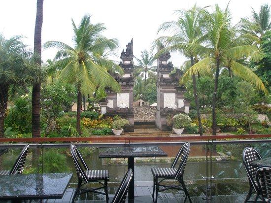 Padma Resort Legian: View from breakfast room