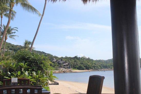 Nora Beach Resort and Spa: view along beach