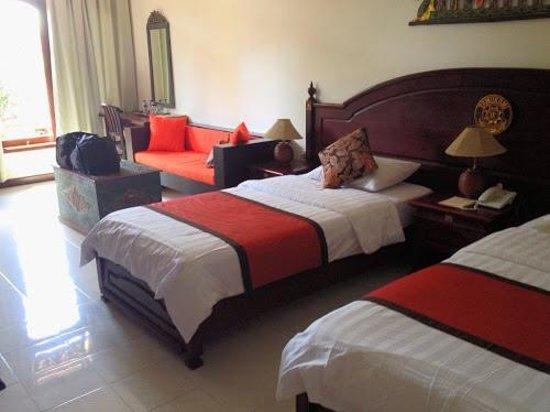 Tamukami Hotel: our great, spacious room