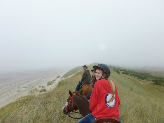 Green Acres Beach & Trail Rides: Dan & some of my fellow adventurers