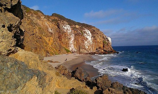 Point Dume State Beach and Preserve: Point Dume secluded beach