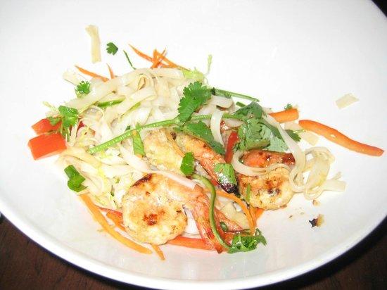 Kiwi: Shrimp Stir Fry - one picks, vegi, meat, sauce & heat temp