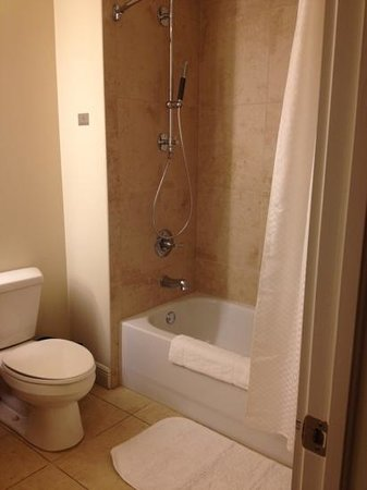 The Westin Cape Coral Resort At Marina Village : bathroom: only half of the spouts on shower worked, very low pressure