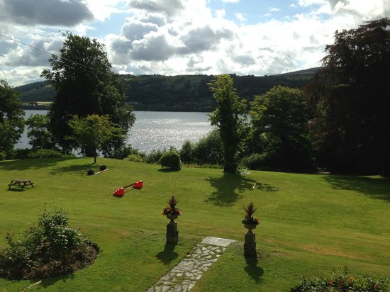 Bryn Tegid: View from the panorama room