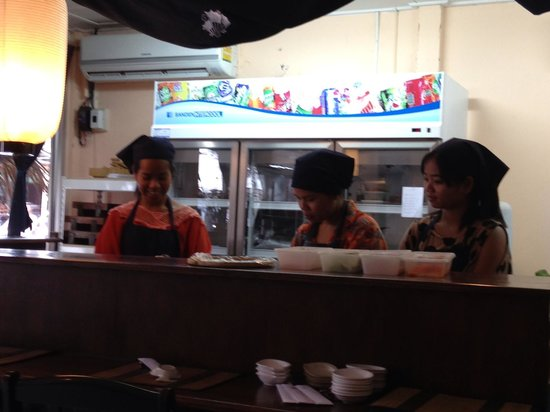 Ageha Sushi: The lovely staff