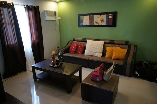 Forest View Leisure Residences : The living room
