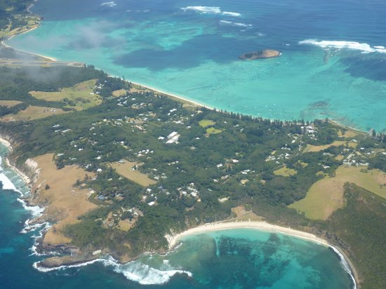 Ned's Beach : from departing plane