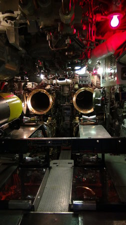 USS Requin: Forward Torpedo Room