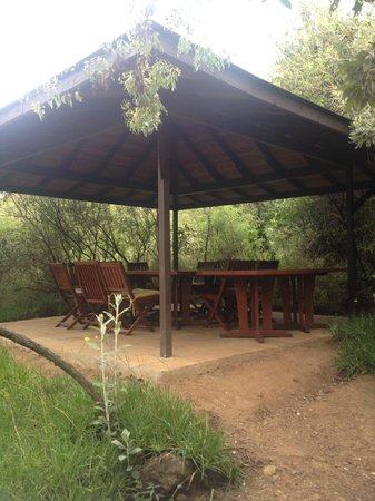 Great Rift Valley Lodge & Golf Resort: Gazebo ourdoors