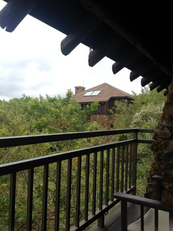 Great Rift Valley Lodge & Golf Resort: View from the balcony showing another cottage