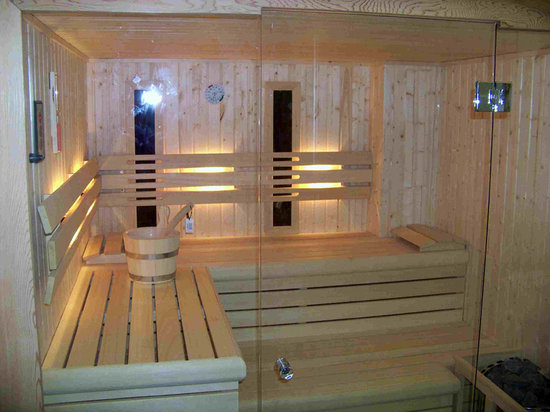 Domus Limbus: Our sauna with infrared