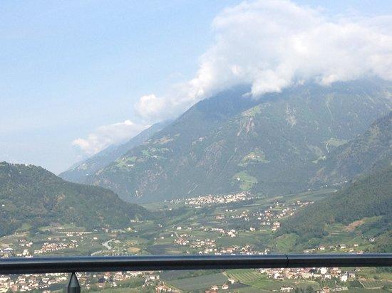 Hotel Castel: het uitzicht