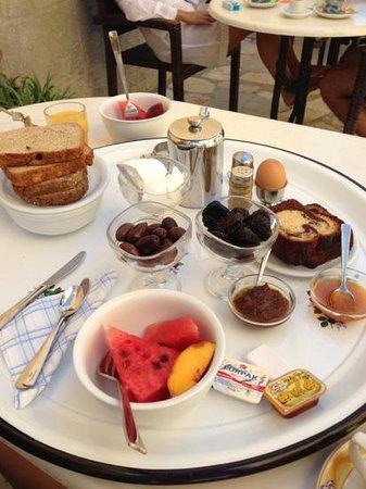 Hotel Kastellorizo: breakfast