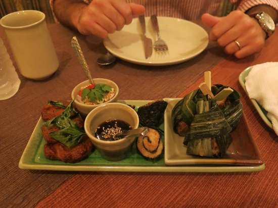 Spice and Rice Thai-Halal Restaurant: antipasto thai
