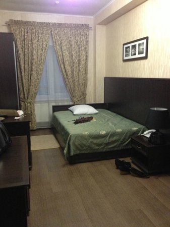 Hotel Verhovina: My room, big enough, clean enough