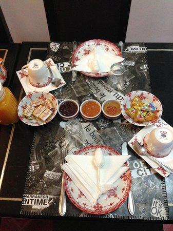 Riad Mirage : Breakfast!