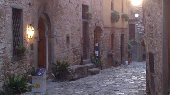 Montefioralle, อิตาลี: la façade