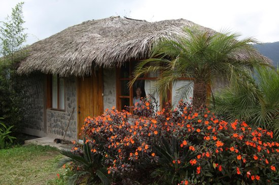 Terrabambu Restaurant Lodge: our two level bungalow offered great views of the valley