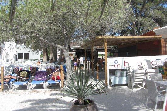 Hotel Roc Boccaccio: Il baretto in spiaggia