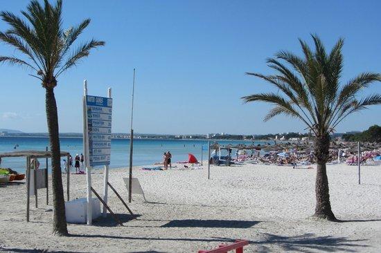 Hotel Roc Boccaccio: La spiaggia