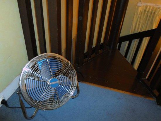 Hotel Baudelaire Opera : Uno dei ventilatori