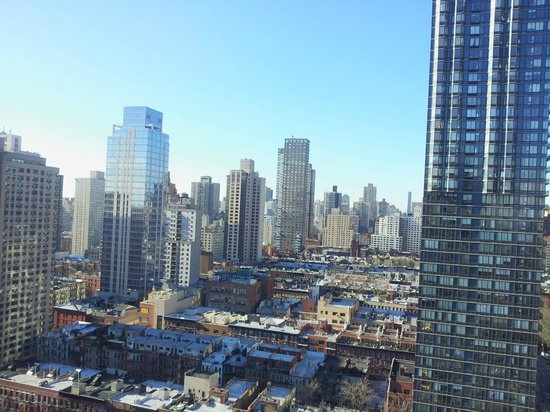 The Marmara Manhattan: Vue du blacon