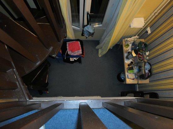 Hotel Baudelaire Opera : Stanza vista dall'alto