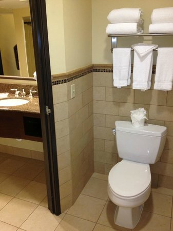 Ayres Hotel Chino Hills : The Toilet Area in the Bathroom