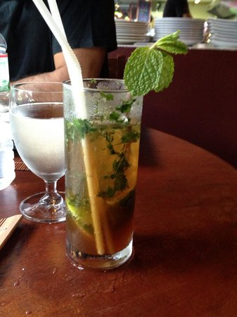 The Shack Bar And Grill: NOT forgetting the AWESOME Mojito's.. NICE kick to em !