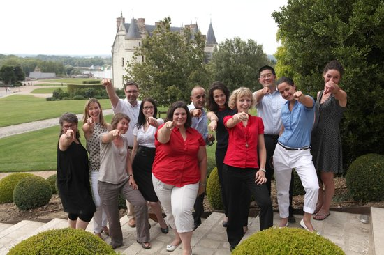 Loire Valley - Day Tours : Loire Valley Tours 2013 team.