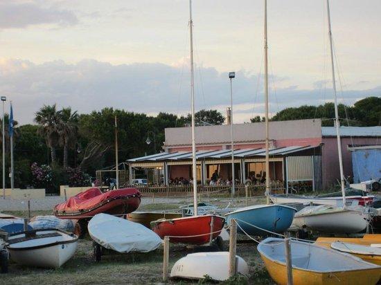 Una veranda di ristorante il cavalluccio marino vada for Foto cavalluccio marino