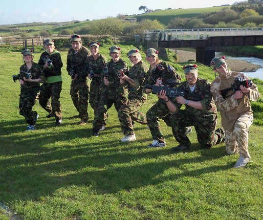 Bude Laser Tag: Fun for all ages