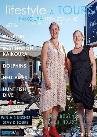 Beach House Cafe: Magazine time