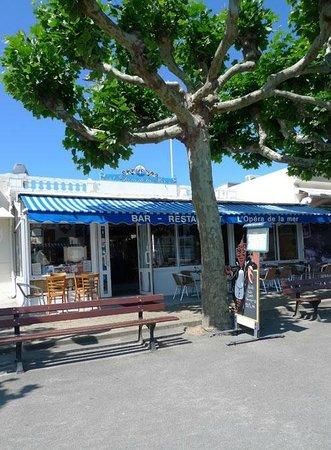 Restaurant Sur La Promenade Du Pouliguen Vue Sur Mer